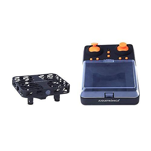 JUGUETRÓNICA- Micro Racing, Mini Drone de Carreras con Control absoluto para Principiantes (JUG0277)