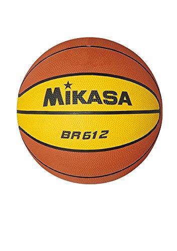 MIKASA 1060 BR 612 - Balón de Baloncesto, Color Naranja y Amarillo