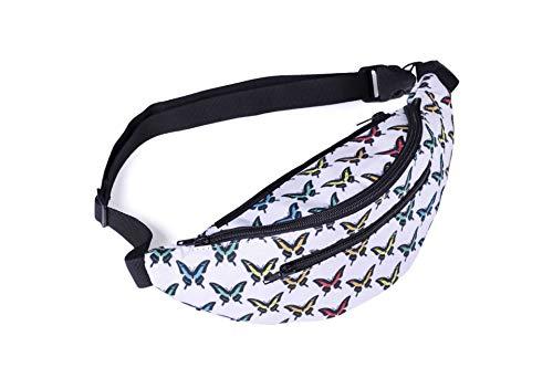 Fhdc heuptas, diagonale verpakking, vrouwelijk, geometrisch motief, polyester, zakdruk