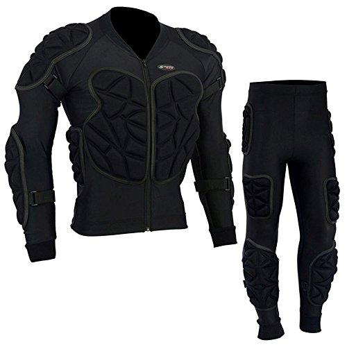 SPEED MAXX LTD Body Armour CE Motorrad Motocross Skifahren Wirbelsäulenschutz Schutzanzug (2XL)