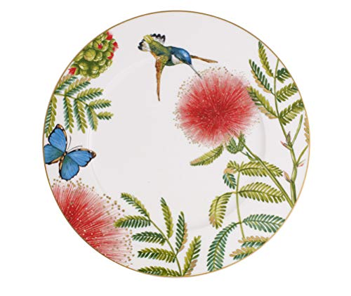 Villeroy & Boch Amazonia Anmut Platzkartenplatte, 30 cm, Porzellan, bone china, mehrfarbig