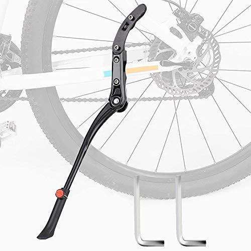 ARPDJK Cavalletto per Bici, Supporto per Bicicletta Regolabile in Lega di Alluminio per Diametro Ruota 24-29 Pollici, Cavalletto per Mountain Bike, Bici da Strada, Bici per Adulti, Bici Pieghevole