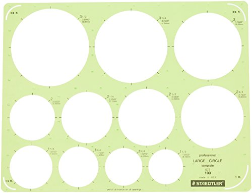 Staedtler Technical Drawing Template (977 103 NA)