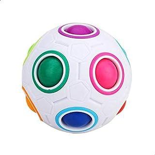 7CM Magic Rainbow Ball Football Fidget Cube Hottest Decompression Finger Toys Children Adult Christmas Gifts