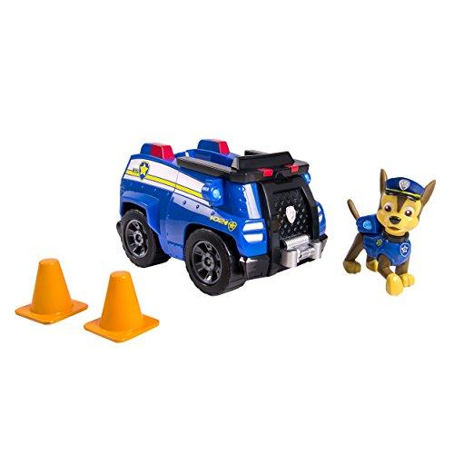 Paw Patrol – Chase et sa Voiture de Police – Figurine et Véhicule