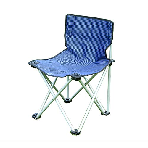Gxf1222 GXF Deckchairs Skizze Stuhl Kunst Folding Painting Hocker Outdoor Klappstuhl Portable Ultra Light Angeln Stuhl Strandkorb Sitzsäcke (Farbe : Blau, größe : L)