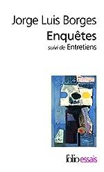Enquêtes / Entretiens avec Georges Charbonnier de Jorge Luis Borges