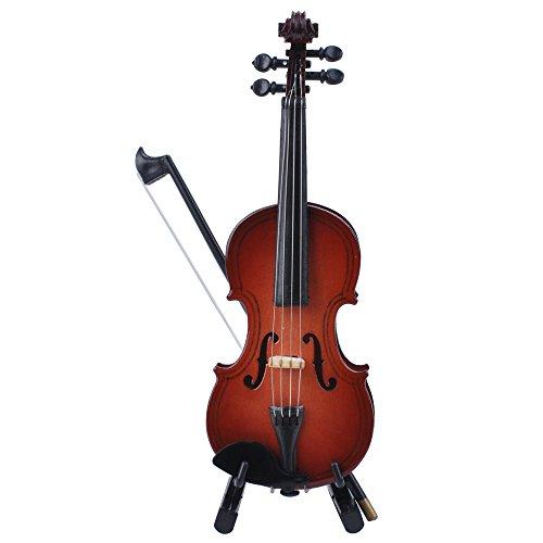 Punk - Caja de música para instrumento miniatura (escala 1:12)., Violin