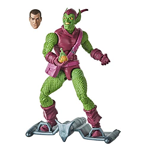 Marvel Hasbro Legends Series Spider-Man 15 cm große Grüner Kobold Action-Figur aus der Vintage Collection