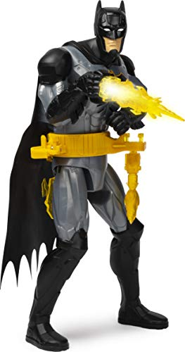 BATMAN, 12-Inch Rapid Change Utility Belt Deluxe Action Figure with Lights and Sounds