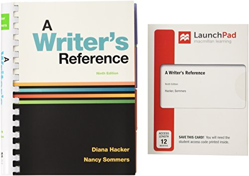 A Writer's Reference 9e and LaunchPad for A Writer's Reference (Twelve-Month Access)
