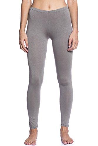 Abbino Dominic Basic Legging Damen - Made in Italy - 12 Farben - Übergang Frühling Sommer Herbst Leggin Damenleggin Viskose Unifarben Sale...