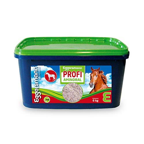 Eggersmann Profi Aminoral – Ergänzungsfuttermittel für Pferde – Zur Unterstützung Einer lockeren Muskulatur – 6 kg Eimer