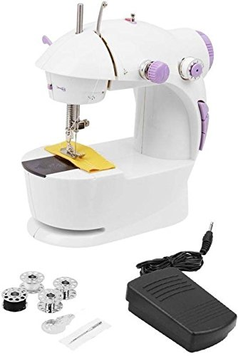 Chalowkart ® Sewing Machine Mini 4 in 1 Desktop Multi Functional Household Sewing Machines for Home