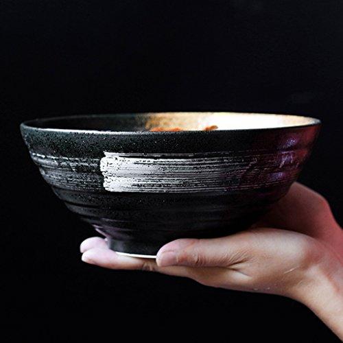 Japanischen Stil Keramik Salat Schüssel 900 ml Suppe Schüssel Geschirr Schüssel Haushalt Ramen Schüssel