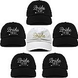 Gorras de béisbol 1 Bridal Bundle - 1 Bride, 5 Bride Tribe Sombrero Deportivo...