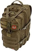 Orca Tactical Military Molle Backpack Small Army SALISH 34L 1 or 2 Day Survival Bug Out Bag Rucksack Pack (OD Green)
