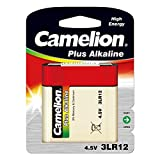 Batterie-Fr 1Pila Plate Camelion 3R124,5V, 4,5V, Alkaline [Pilas]