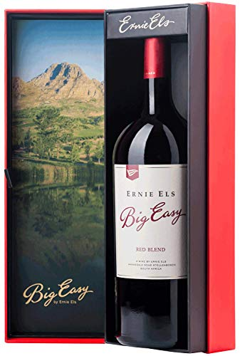 Ernie Els Big Easy Red Blend 2018 MAGNUM   Rotwein aus Südafrika in Geschenkverpackung (1.50l)   Weingeschenk
