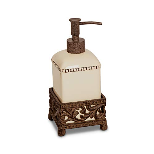 GG Collection 8.5in H Acanthus Soap Dispenser
