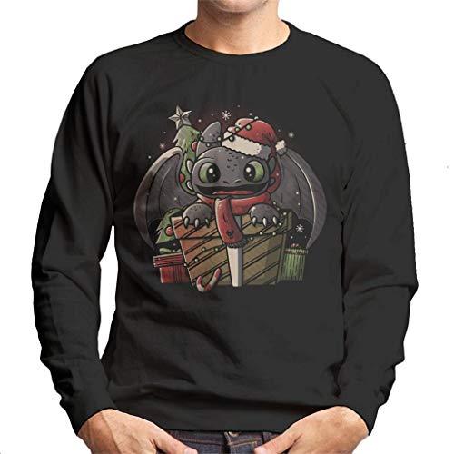 Tandloos dragen van een kerstmuts hoe je je Dragon Heren Sweatshirt kunt trainen