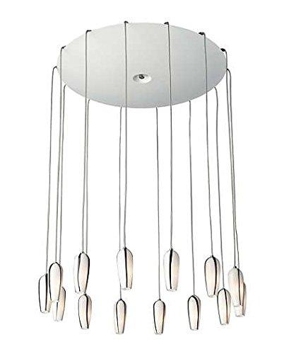Lirio (Italien) by Philips Suspension Light–Suspension Lighting (Metal, G4, Halogen, White, White, Warm White)