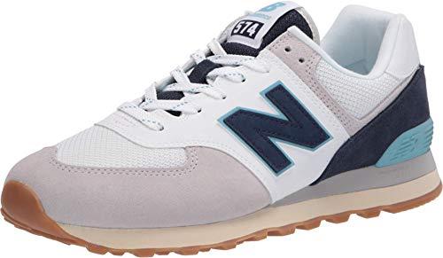 New Balance Herren 574v2 Sneaker, Grau (Grey/Navy Sou), 42.5 EU