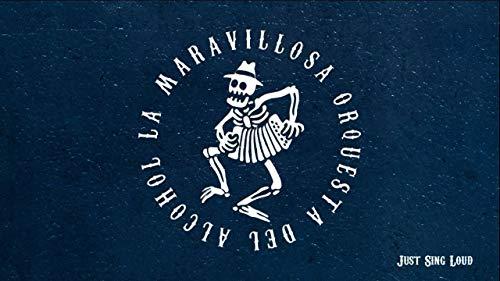 POSTER LA MARAVILLOSA ORQUESTA DEL ALCOHOL LA MODA 100x70cm