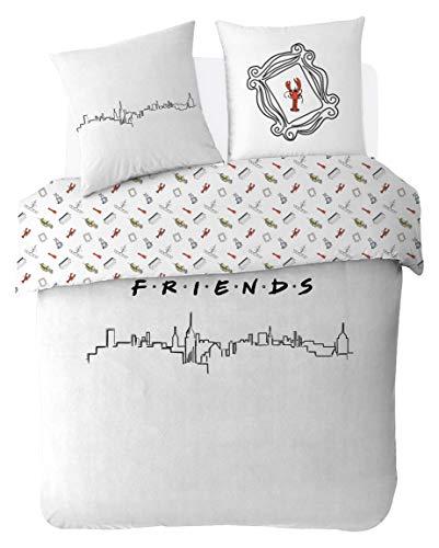 Friends Bettwäsche-Set 200 x 200 cm 100%...