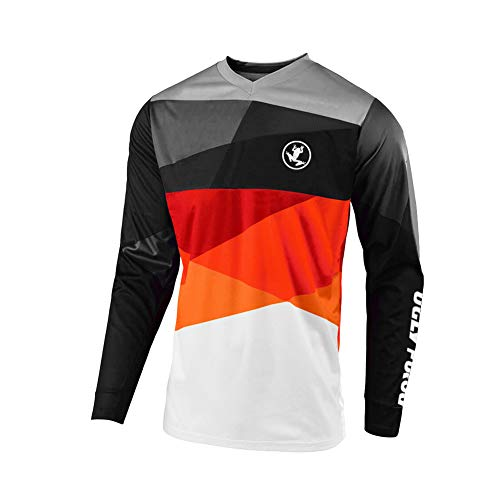 UGLY FROG Thermal Vlies 2020-2021 Langarm Ärmel Jersey Frühlingsart Motocross Mountain Bike Downhill Shirt Herren Sportbekleidung Kleidung Winter