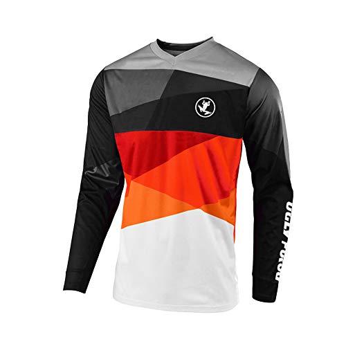 Uglyfrog Motorrad- / Motocross- / Mountainbike-Trikot, Herren, Langarm Downhill Shirt