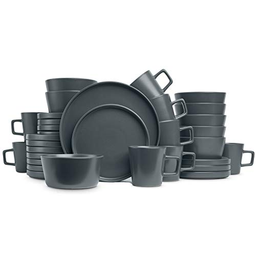 Stone Lain Coupe Dinnerware Set, Service For 8 Now $59.98 (Was $109.99)