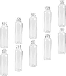 Beaupretty 27Pcs Vazio Recarregáveis Garrafa De Plástico Transparente Plana Clara Tubos De Ensaio De Plástico Com Tampa de...