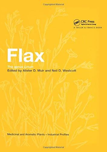 Flax: The Genus Linum