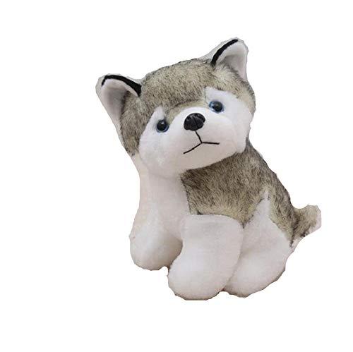 Pluche Schattige Grote Husky Knuffel Pop Pluche Hond Knuffel-Husky_50cm