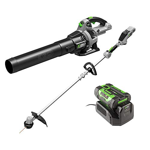 EGO Power+ ST1502LB 15-Inch String Trimmer & 530CFM Blower Combo Kit with 2.5Ah Battery and Charger Included