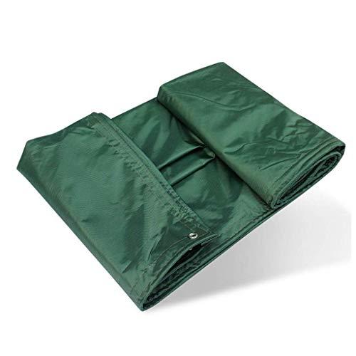 WTT afdekzeil, veelzijdig inzetbaar, stofbescherming voor vrachtwagen, intensief gebruik | beschermhoes voor tent, hangmat, zwembad, tuin, auto, motorfiets, boot (kleur: groen, maat: 3 x 4 m)