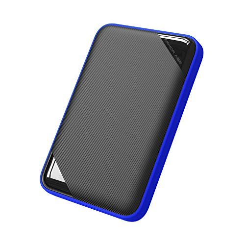Silicon Power 2TB Rugged Game Drive Portable External Hard Drive HDD A62, Compatible with PS4 Xbox One PC and Mac
