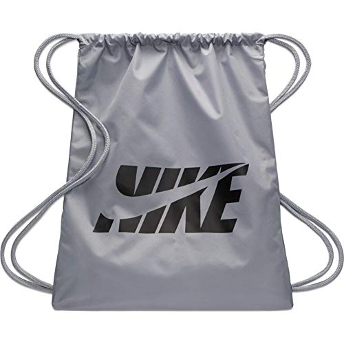Nike Kids Graphic Gym Sack (LT Smoke Grey/LT Smoke Grey/Black)