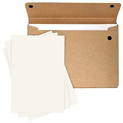 Artway Enviro - Flat White Multi-Arte paper - 250gsm - A2 Folio Pack - 25 Sheets