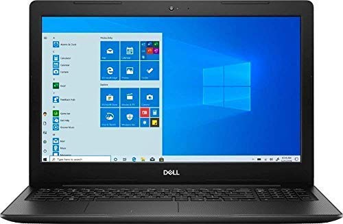 Dell Inspiron 15 3000 15.6' HD LED-Backlit Screen Laptop, AMD Athlon Silver 3050U up to 3.2GHz, 4GB DDR4, 128GB NVMe SSD, HDMI, Wi-Fi, Bluetooth, Windows 10 S Mode, TWE Mouse Pad