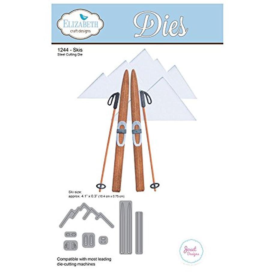 Elizabeth Craft Metal Die-Skis