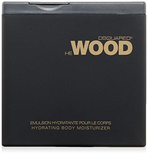 Dsquared He Wood homme/man, Hydrating Body Moisturizer, 1er Pack (1 x 200 ml)