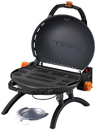 Iroda O-Grill 600 – Barbecue à Cartouche, 52.5 x 21.5 x 58 cm, Orange métallisé