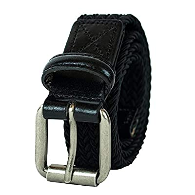 Levi's Boys' Big Kids Belt - School Casual for Jeans Classic Strap and Single Prong Buckle, Black, Small