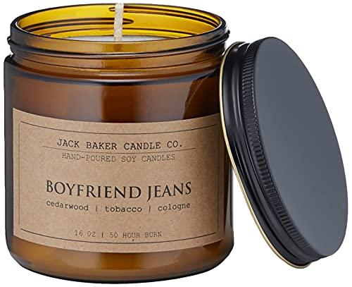 Jack Baker Candle Co. - 16 oz. Boyfriend Jeans Candle
