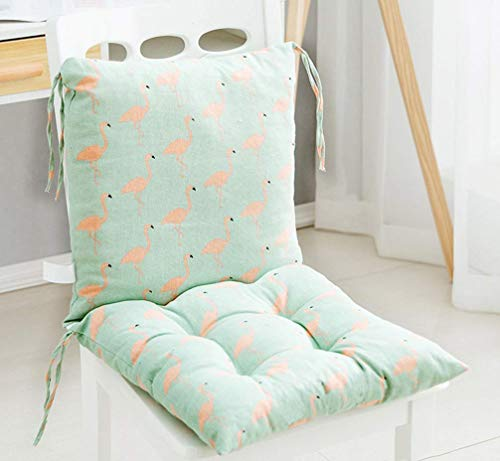 Square Chair Pad Booster Thick Seat Car Seat Cushion Chair Padded Cushion Chair Seat Pads Indoor Outdoor Splittable Washable (I)