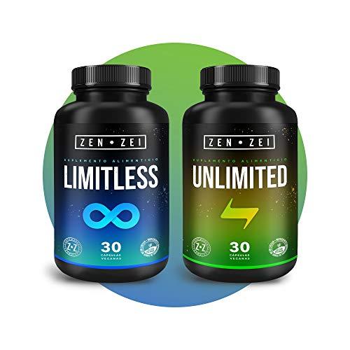 ZZ   PRODUCTIVITY STACK - Paquete de Suplementos Inteligentes 100% Veganos — Formulados para: Productividad Absoluta, Máximo Rendimiento Cerebral y Energía — 60 Cápsulas Veganas   Calidad Premium