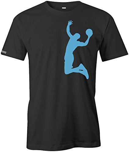 Jayess | Shirts4Everybody - Camiseta Schwarz - Blau XX-Large