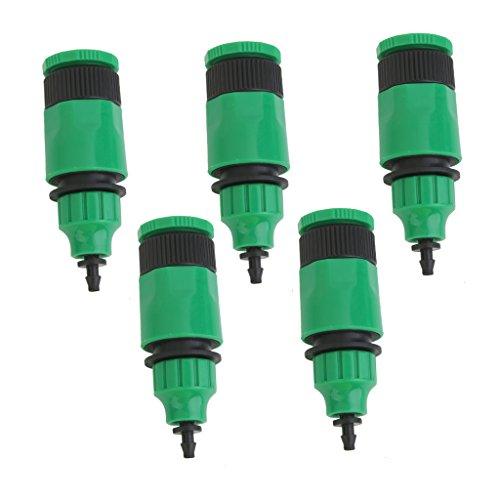 Sharplace 5pcs Adaptateurs de Tubes d'eau pour Irrigation Tube Capillaire Flexible Connecteur